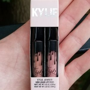 Kylie Mini Liquid Lipsticks Velvet & Matte